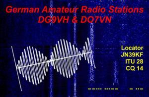 QSL-Karte für DG9VH und DO7VN