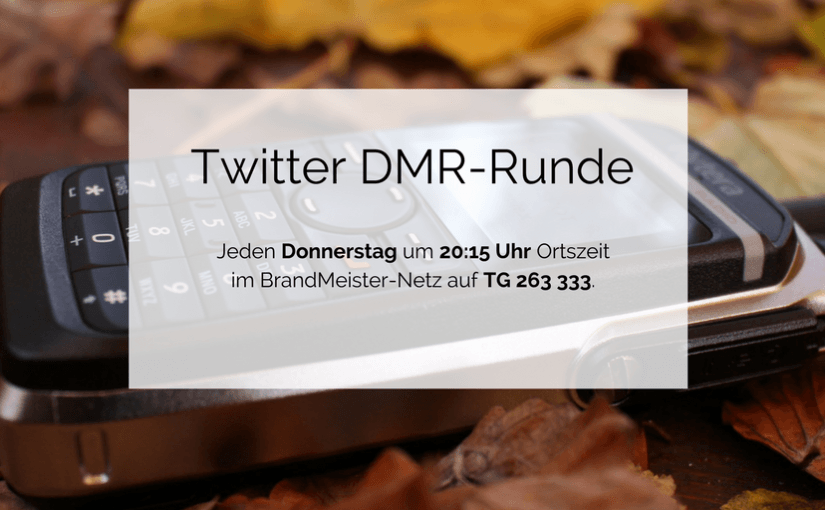 Twitter DMR-Runde quervernetzt