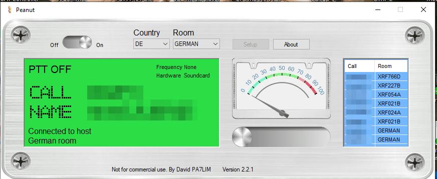 Screenshot Peanut V2.2.1